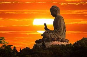 Boeddha avondzon