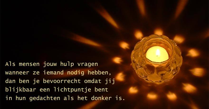 spreuken over licht en donker Lichtpuntje – Mareiki ॐ spreuken over licht en donker