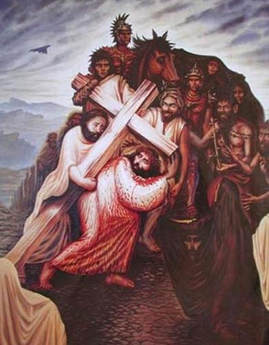 gezichtbedrog Jezus